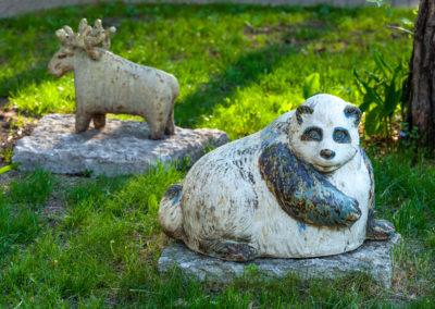 Panda (1991) ja Põder (1966), Ellinor Piipuu